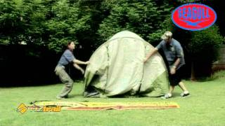 oztrail classic 4v dome tent mpg