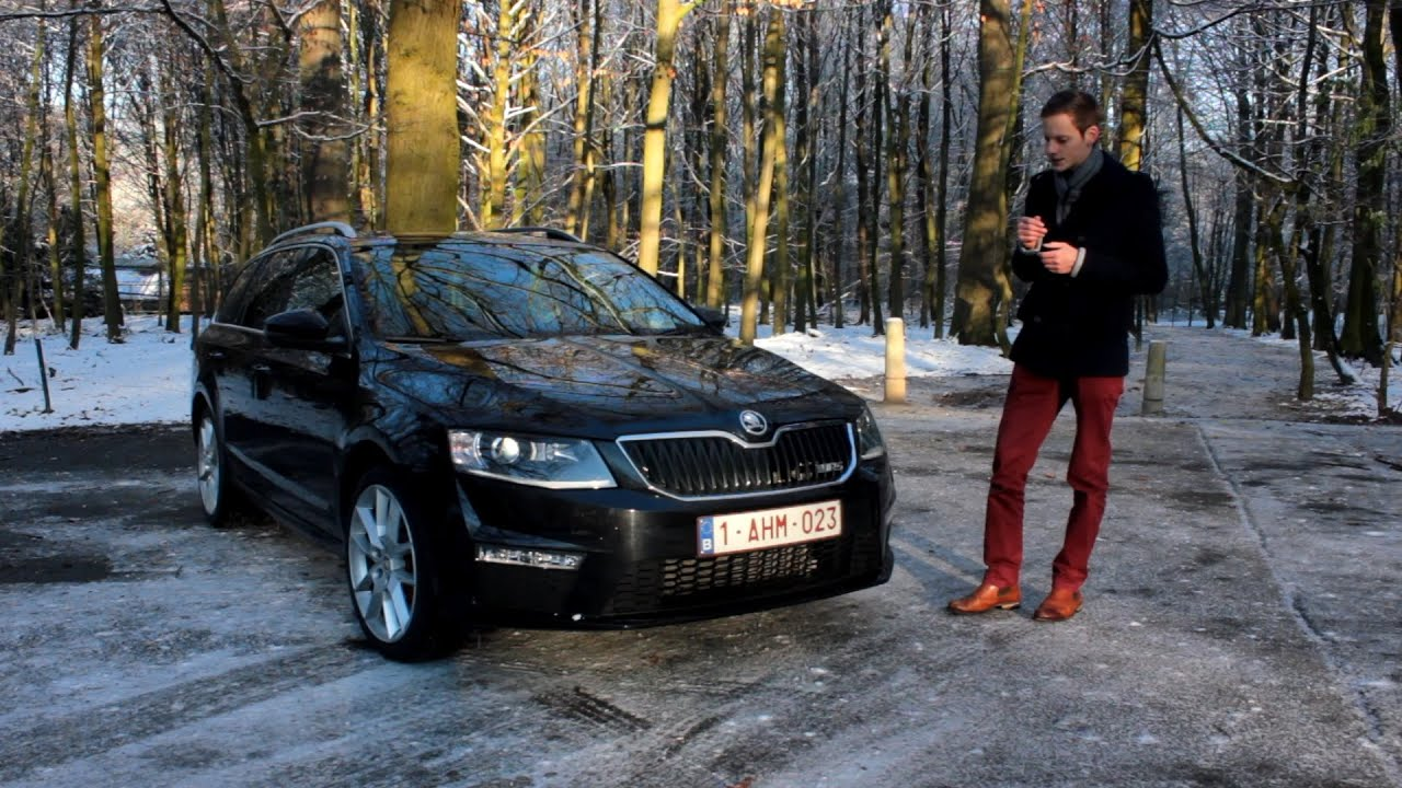 e tv moteurs essai skoda octavia combi rs youtube. Black Bedroom Furniture Sets. Home Design Ideas