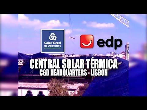 LISBOA - CGD & EDP - Central Solar Térmica