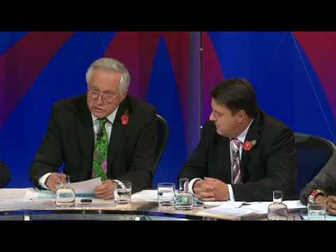 BNP Nick Griffin on BBC Question Time Part 2
