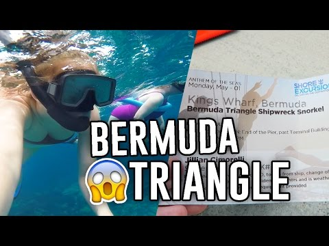 SNORKELING AT SHIPWRECKS IN THE BERMUDA TRIANGLE! // Jill Cimorelli