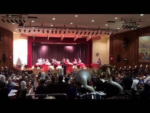 Tottenville High School Marching Band - Blast off - 12/21/15 - 2015 THS Winter Concert