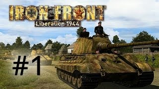 Thumbnail für das Iron Front: Liberation 1944 (Beta) Let's Play