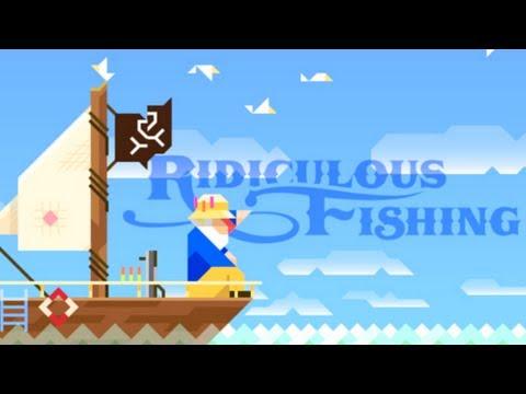 Ridiculous Fishing - IPhone IPad Game
