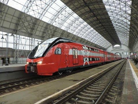 Rusya'da Çift Katlı Hızlı Tren Seferlerine Başladı