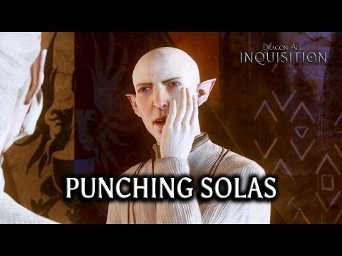 Dragon Age: Inquisition - Punching Solas