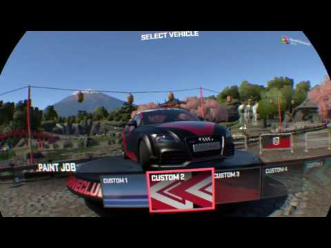 DriveClub VR ginger tea