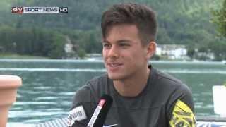 Sascha Horvath steht vor seiner zweiten Bundesligasaison #SkyABL #SSNHD