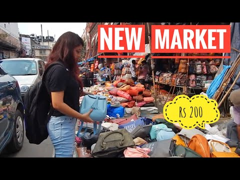 New Market Kolkata II Street Shopping in Kolkata