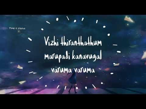 Mudhal Kanave Whatsapp Status | Majnu | Lyrical | Tamil