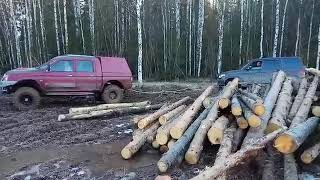 L200 и УАЗ Патриот