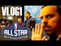 ¡DENTRO DEL ALL STAR DE LA NBA! | Vlog Día 1