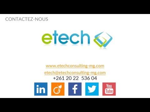 eTech, référence du digital France et Madagascar