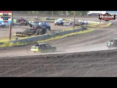 Nodak Speedway IMCA Sport Compact Heats (Motor Magic Night #2) (9/2/18)