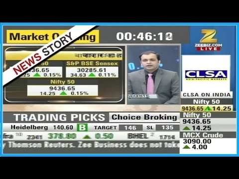 Stocks of Hindalco, Tata Motors, SBI showing strength in the market