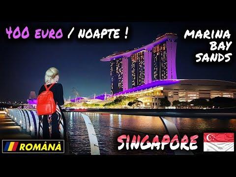O noapte la Marina Bay Sands Singapore