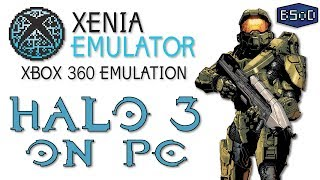 Halo 3 Running on an Xbox 360 Emulator on PC | Xenia Emulator
