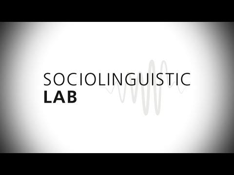 Sociolinguistic Lab // University of Cologne