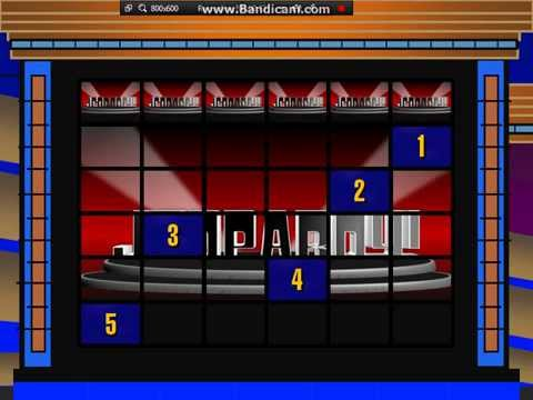 Jeopardy! Powerpoint 2015 Game Template - Youtube