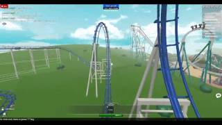 Roblox Point - Shockwave Front Seat On Ride POV