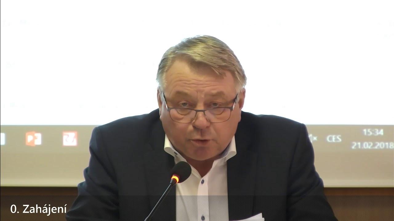 Zastupitelstvo města Pelhřimov 21.2.2018