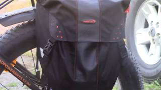 Ibera Quick release pannier bags on the RAD Rover:  IB-BA9