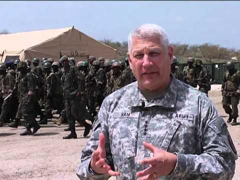 Senegal - General Hamm Visit