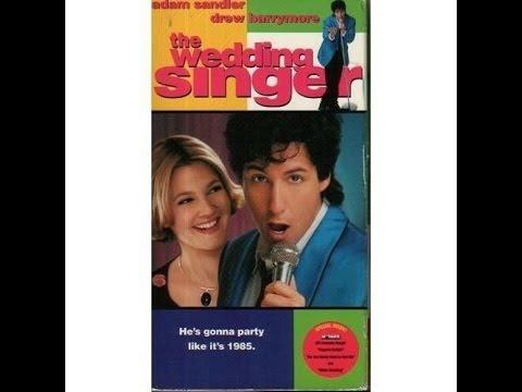 Opening To The Wedding Singer 1999 VHS Thepreviewsguyvhsdvdopeningsalter