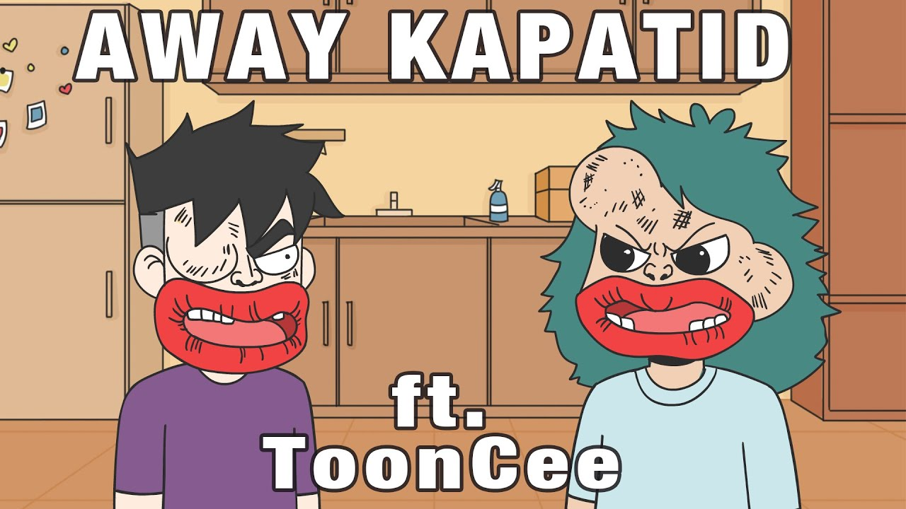 Download AWAY KAPATID MOMENTS ft. ToonCee | PINOY ANIMATION