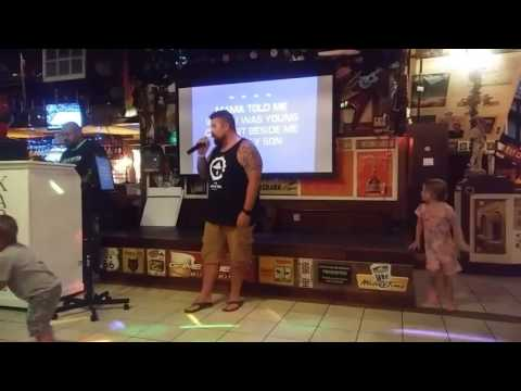 Karaoke fun at bric n brac