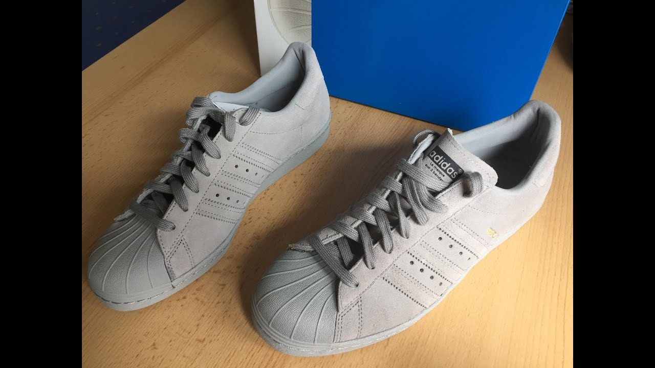 adidas all grey suede superstar