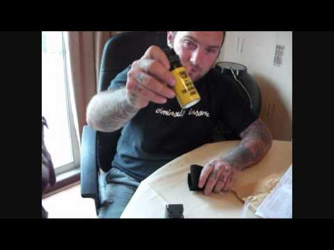StoppaRed self defence marker spray P O V direct ... - YouTube