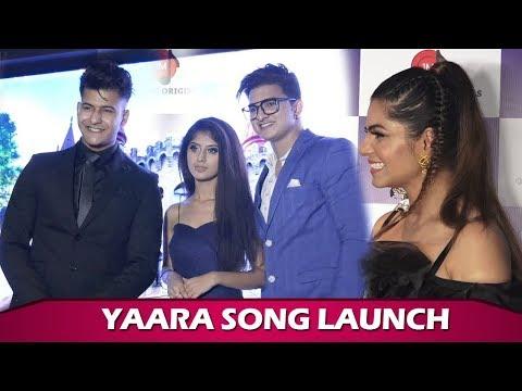arishfa-khan,-manjul-khattar,-mamta-sharma-&-rits-bidiani-at-yaara-song-launch