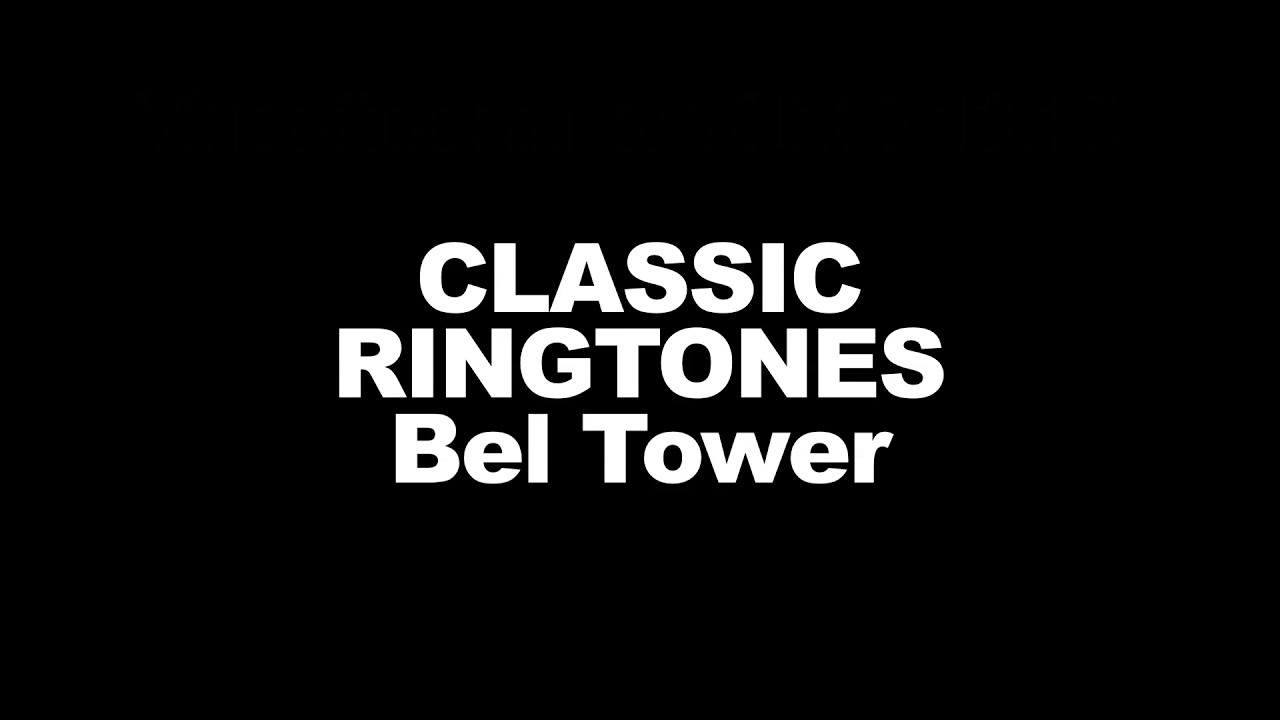 iphone ringtone bell tower