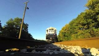 TTI Coal Train Rumbles Over GoPro Camera