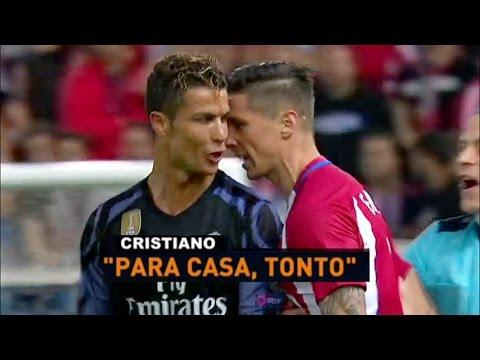 """Cristiano Ronaldo vs Fernando Torres """"Para casa, tonto"""" 10/05/2017"""