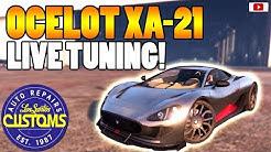😲Das Beste Neue Tuning Monster! OCELOT XA-21 Live Tuning!😲 [GTA 5 Online Gunrunning Update DLC]