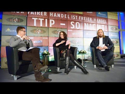TTIP - so nicht! Die Fairhandlungstour mit Michael Hüther und Anton Hofreiter