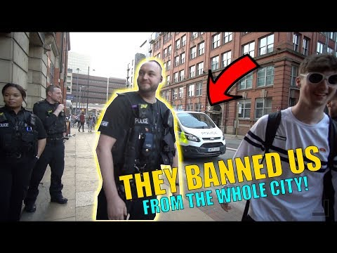 THEY BANNED US FROM THE WHOLE CITY!! *NIGHTMARE*