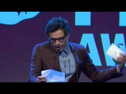 Jemaine Clement presents Best Director Award - NZ Film Awards 2014