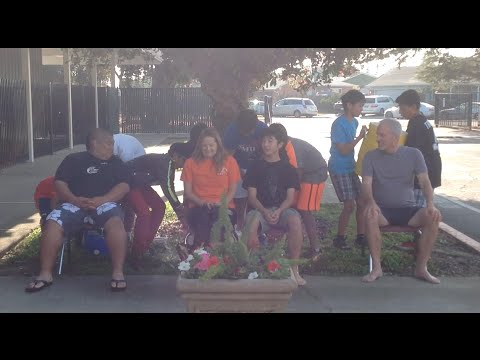 Stratford Middle School, Fremont takes the ALS Ice Bucket Challenge!