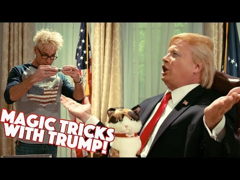 Thumbnail: Doing Magic with the President DONALD TRUMP!!!!!
