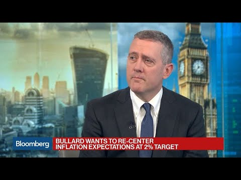 Fed's Bullard On Interest Rates, U.S. Economy, Inflation