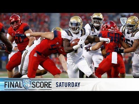 Highlights: No. 9 UCLA football runs over No. 16 Arizona