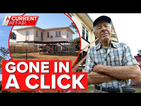 How a great-grandfather lost $71,000 in one click | A Current Affair