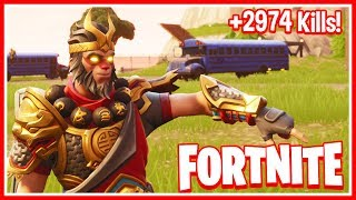 🔴 NEW FORTNITE UPDATE!! *CLINGER GRENADE* // +2974 Kills // +38 Wins (Fortnite Battle Royal Live)