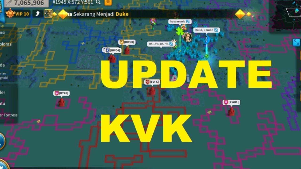 Live !  Update KVK and Kingdoms 1945