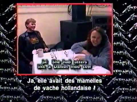 Un an et demi de la vie de Metallica - Sous titre Francais.