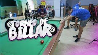 EPIC TORNEO de BILLAR 😱Mete la Bola Negra de un Tiro😱con la Crazy Crew