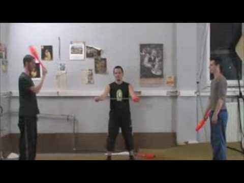 Cool juggling tricks by Jordaan, Declan and Santiago